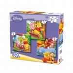 Puzzle 3 in 1 winnie the pooh Disney