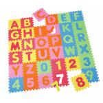 Covor puzzle din spuma Alphabet and Numbers 36 piese