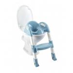 Reductor pentru toaleta cu scarita Kiddyloo Myosotis blue