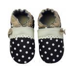 Pantofiori bebelusi Polka Princess Black 6 luni