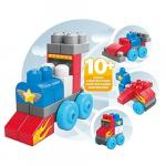 Set de construit vehicule cu 20 de piese Mega Bloks