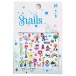 Stickere pentru unghii Snails Baby Art