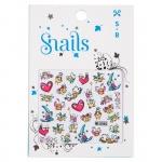 Stickere pentru unghii Snails Story Telling