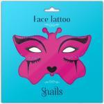 Tatuaj adeziv pentru fata copii Midnight Cat