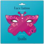 Tatuaj adeziv pentru fata copii Queen Of Hearts