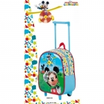 Trolley cu rucsac junior Mickey Mouse