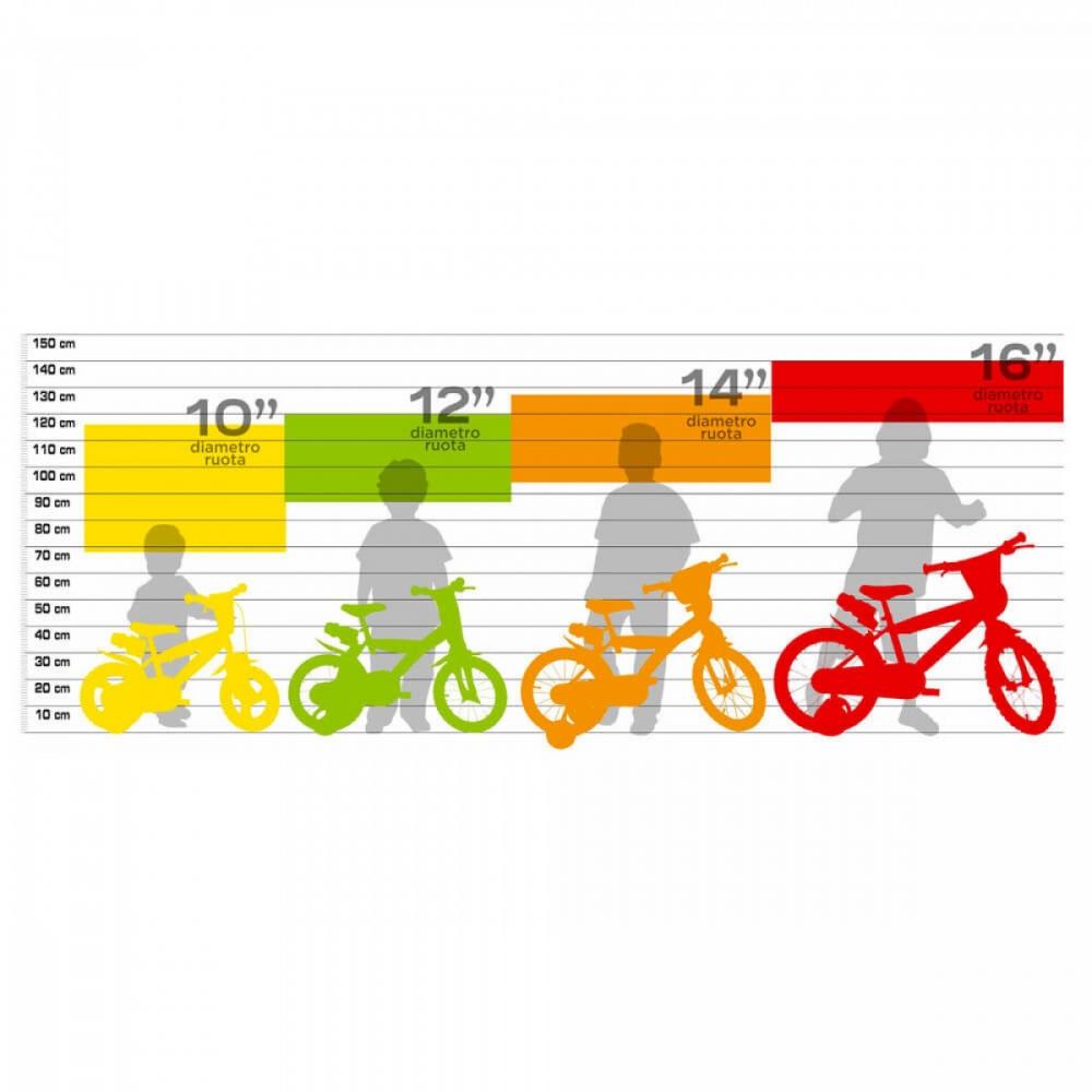 Bicicleta pentru fetite Trolls 12 inch 124TRO