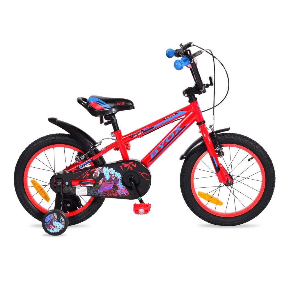 Bicicleta pentru baieti Byox Monster Red 16 inch