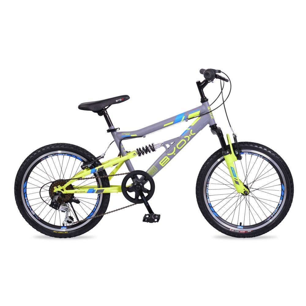 Bicicleta pentru copii Byox Versus Grey 6 viteze 20 inch imagine
