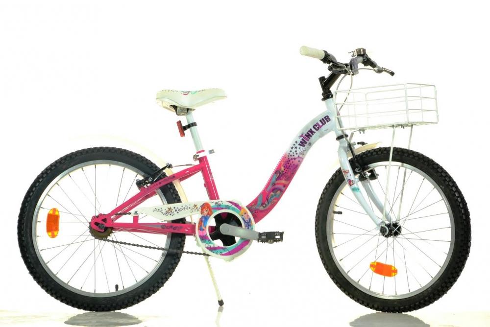 Bicicleta pentru fetite Winx cu diametru 20 inch