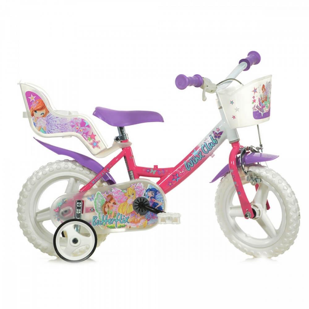 Bicicleta pentru fetite Winx diametru 12 inch