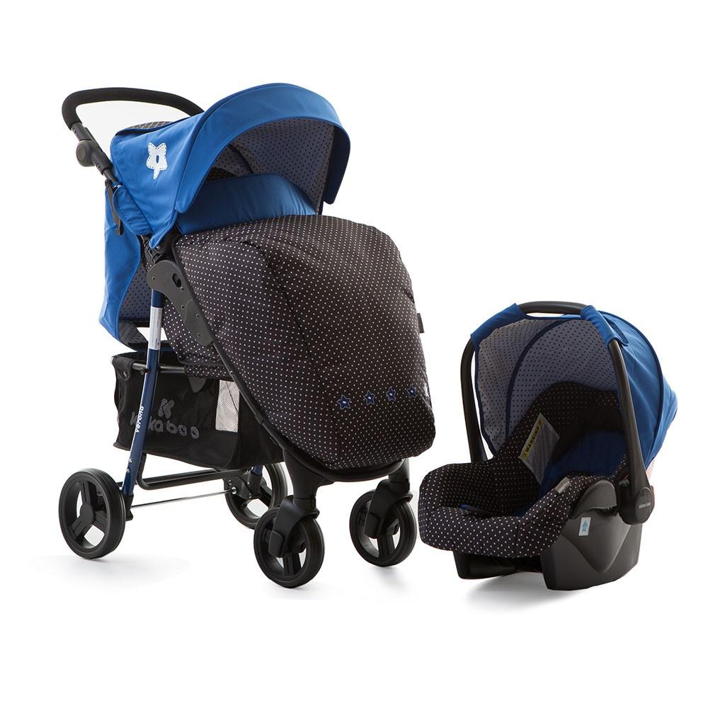 Carucior 2 in 1 cu scaun de masina Verona Blue