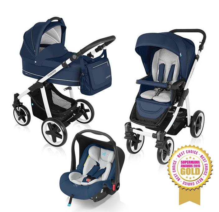 Carucior Multifunctional 3 In 1 Baby Design Lupo C