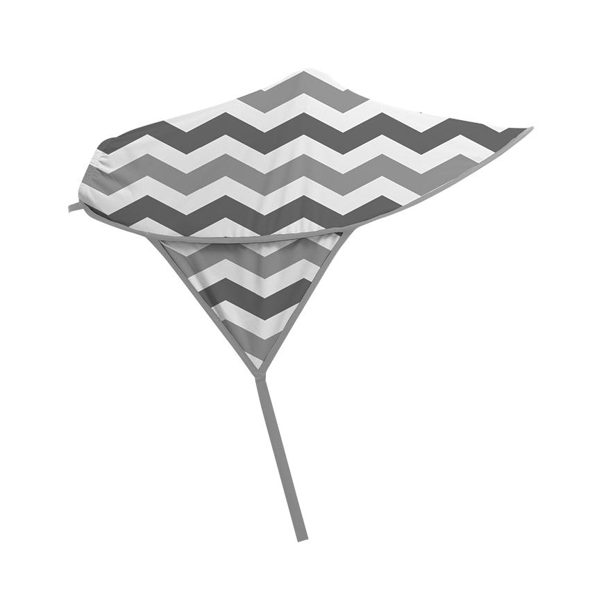 Copertina pentru carucioare Grey Lines