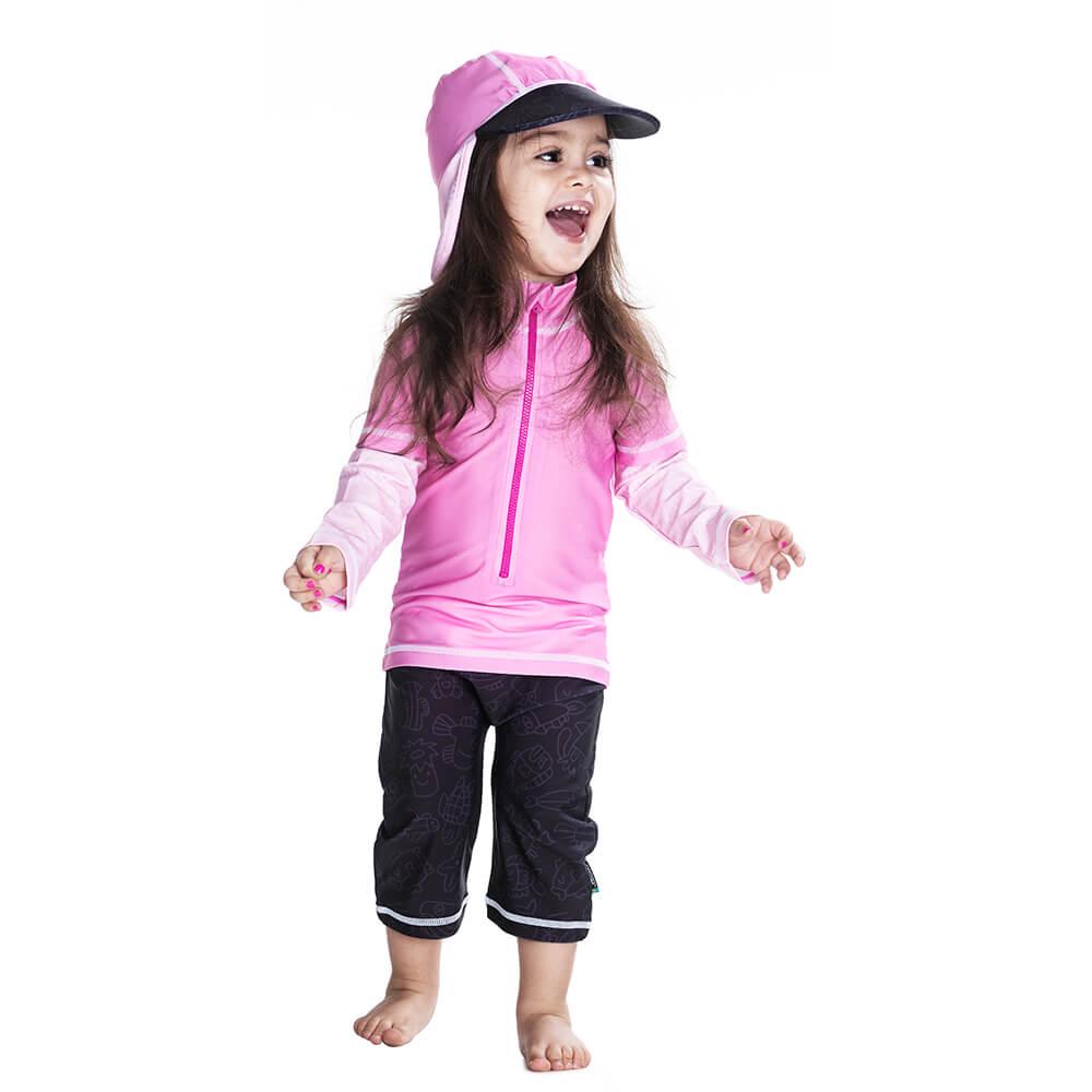 Costum De Baie Pink Ocean Marime 62-68 Protectie U