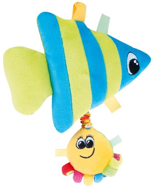 Cutie muzicala din plus Oceanul colorat Peste cu caracatita mica din categoria Camera copilului de la CANPOL