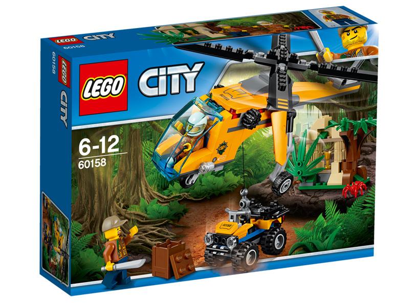 Elicopter de marfa in jungla (60158)