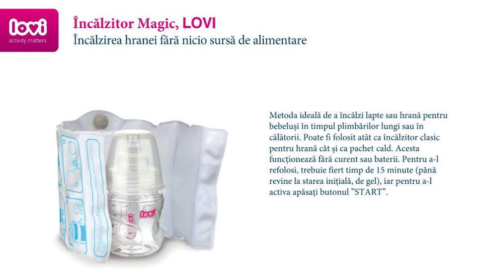 Incalzitor magic cu gel roz imagine