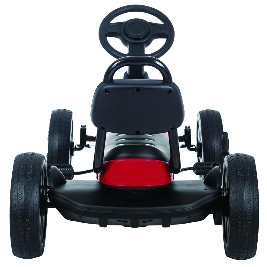 Kart cu pedale Antique K01 Red