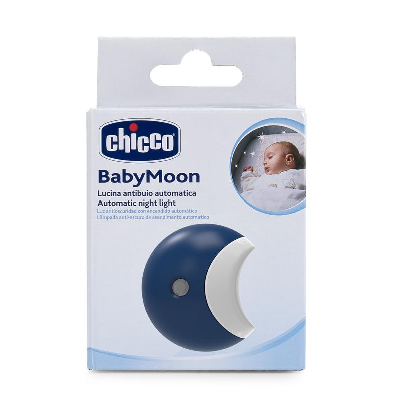 Lampa de veghe automata Chicco Baby Moon 0luni+