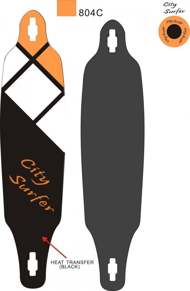Longboard City Surfer 38 imagine