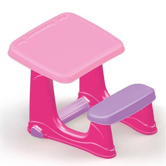 Masa de studiu cu scaun - Roz