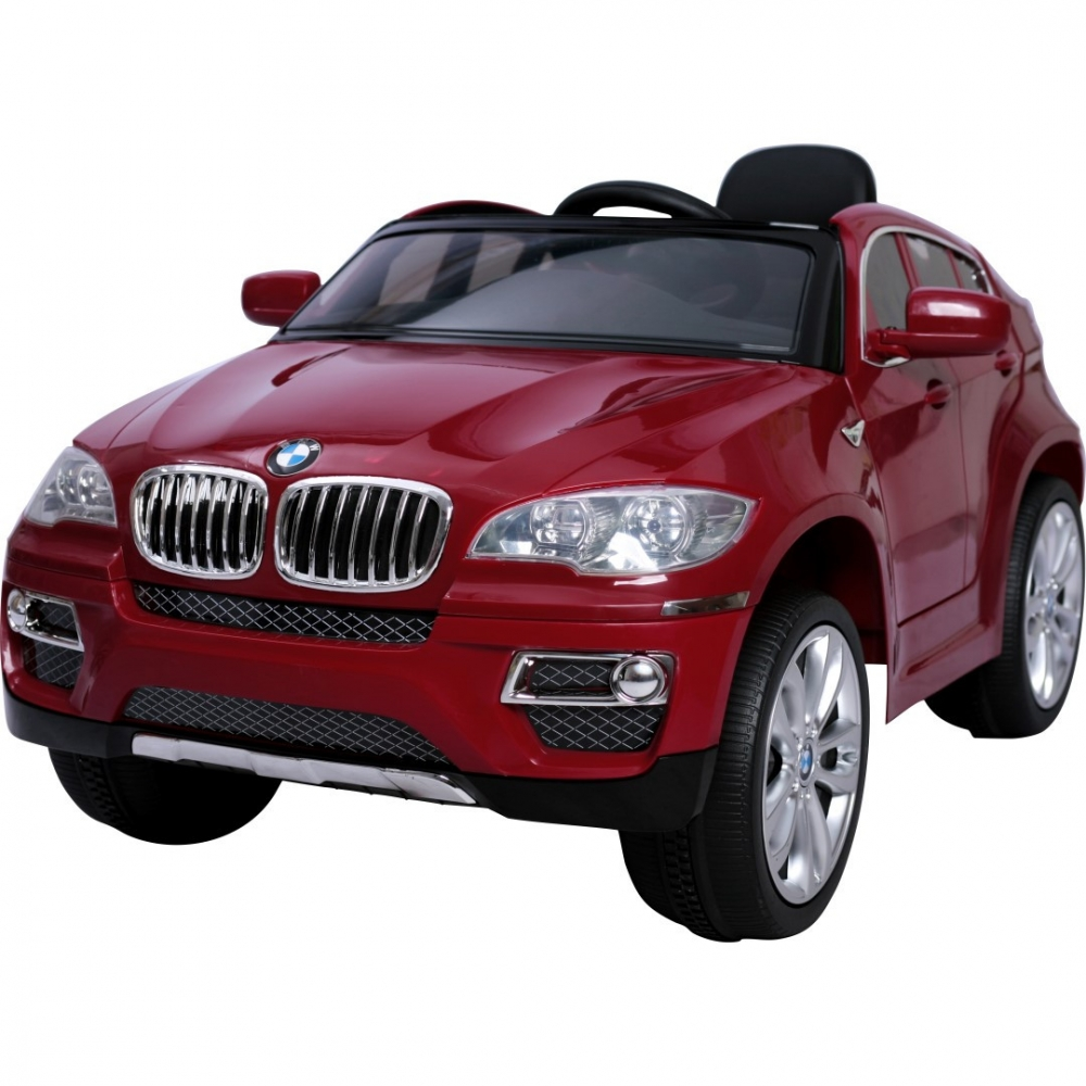Masinuta Electrica Cu Display Electronic Bmw X6 Red