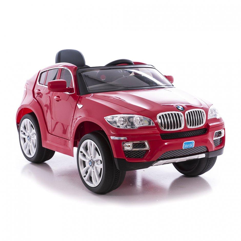 Masinuta electrica cu display electronic BMW X6 Red