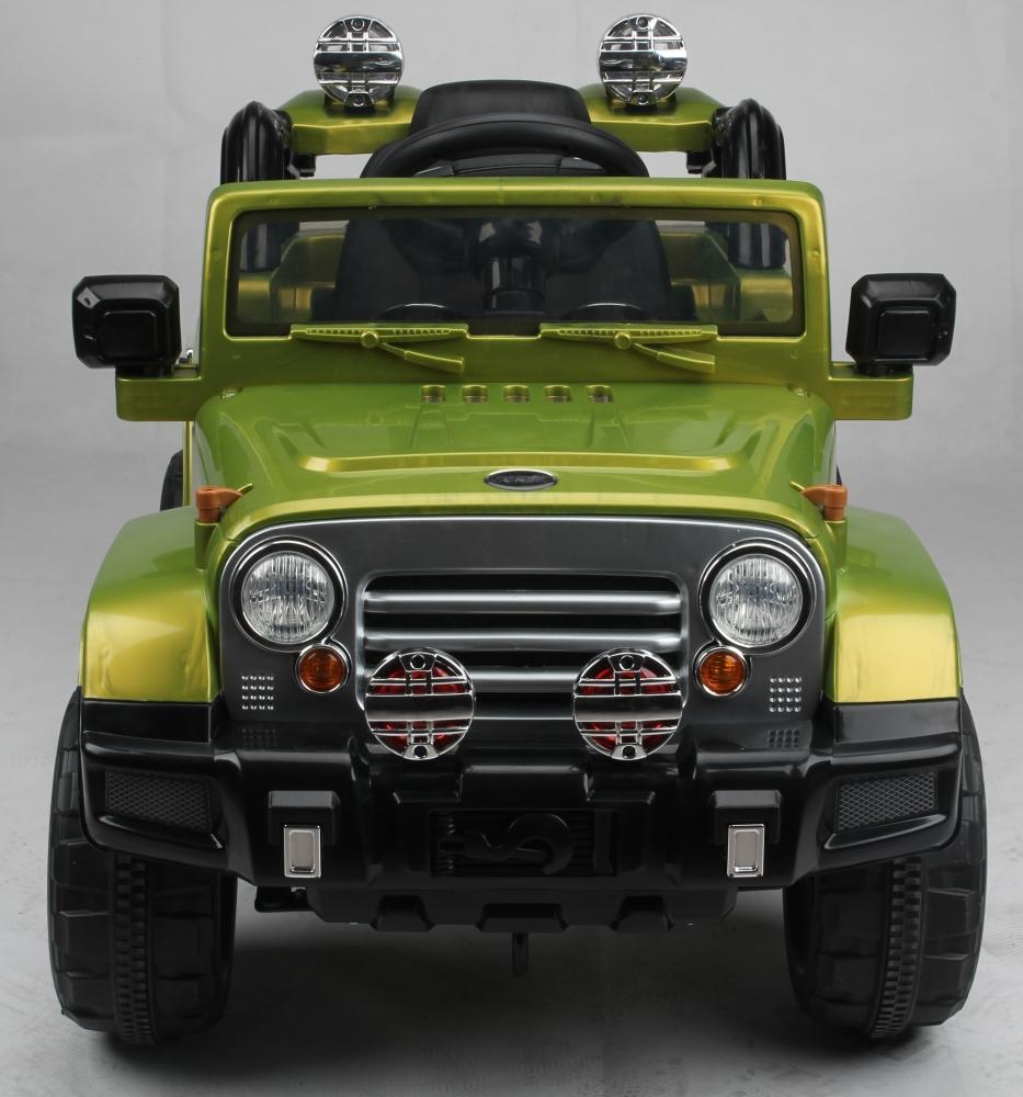 Masinuta electrica cu telecomanda JJ245 12V Verde - 2