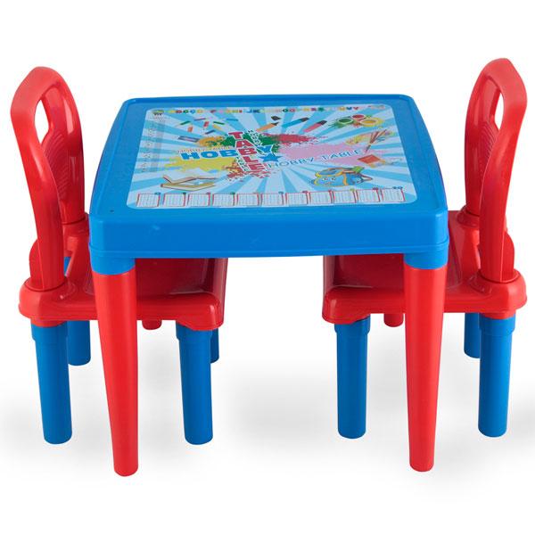 Masuta cu doua scaunele Blue