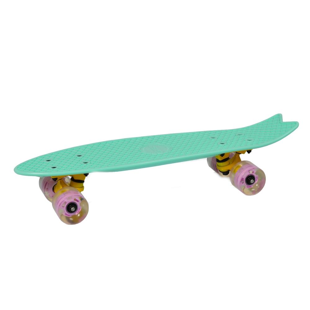 Penny Board Pastel Abec-7 Roti Luminoase Green