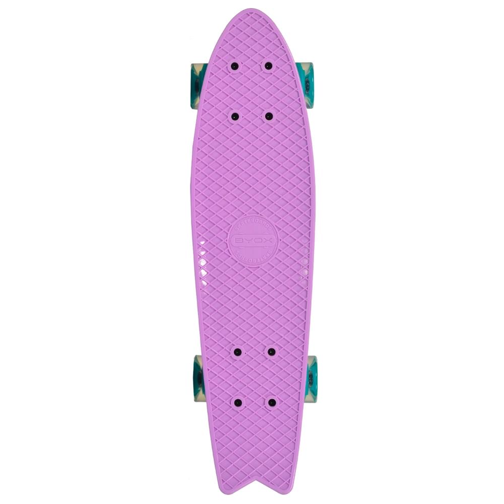 Penny board Pastel Abec-7 roti luminoase Purple imagine