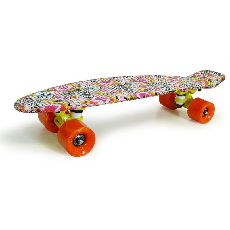 Pennyboard cu motive florale imagine