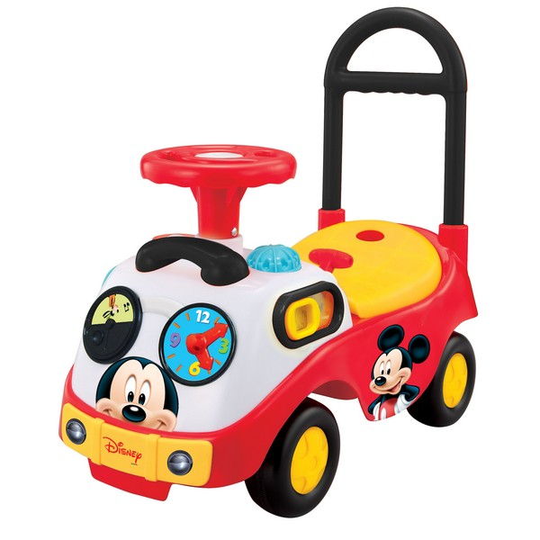 Primul meu ride on interactiv Mickey Mouse Kiddieland