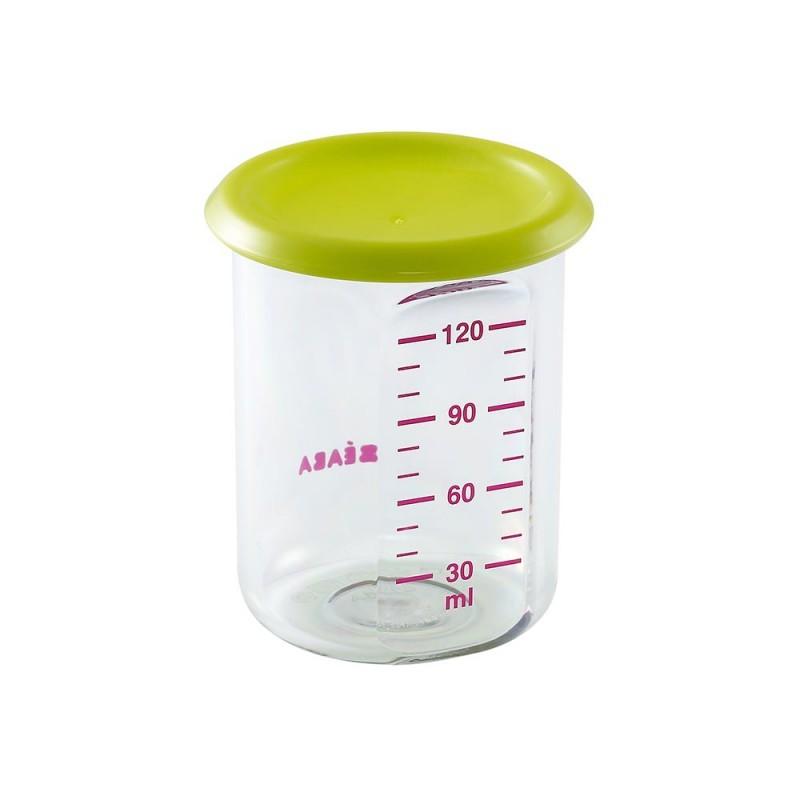 Recipient Ermetic Hrana 120ml Neon