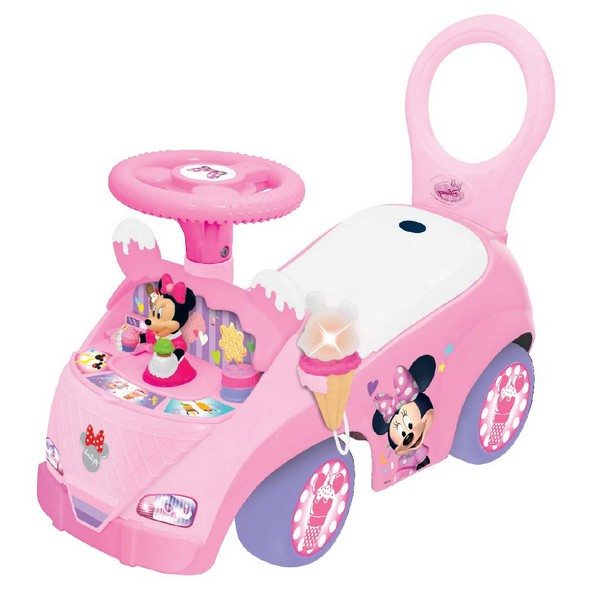 Ride on musical Minnie Mouse fabrica de inghetata Kiddieland