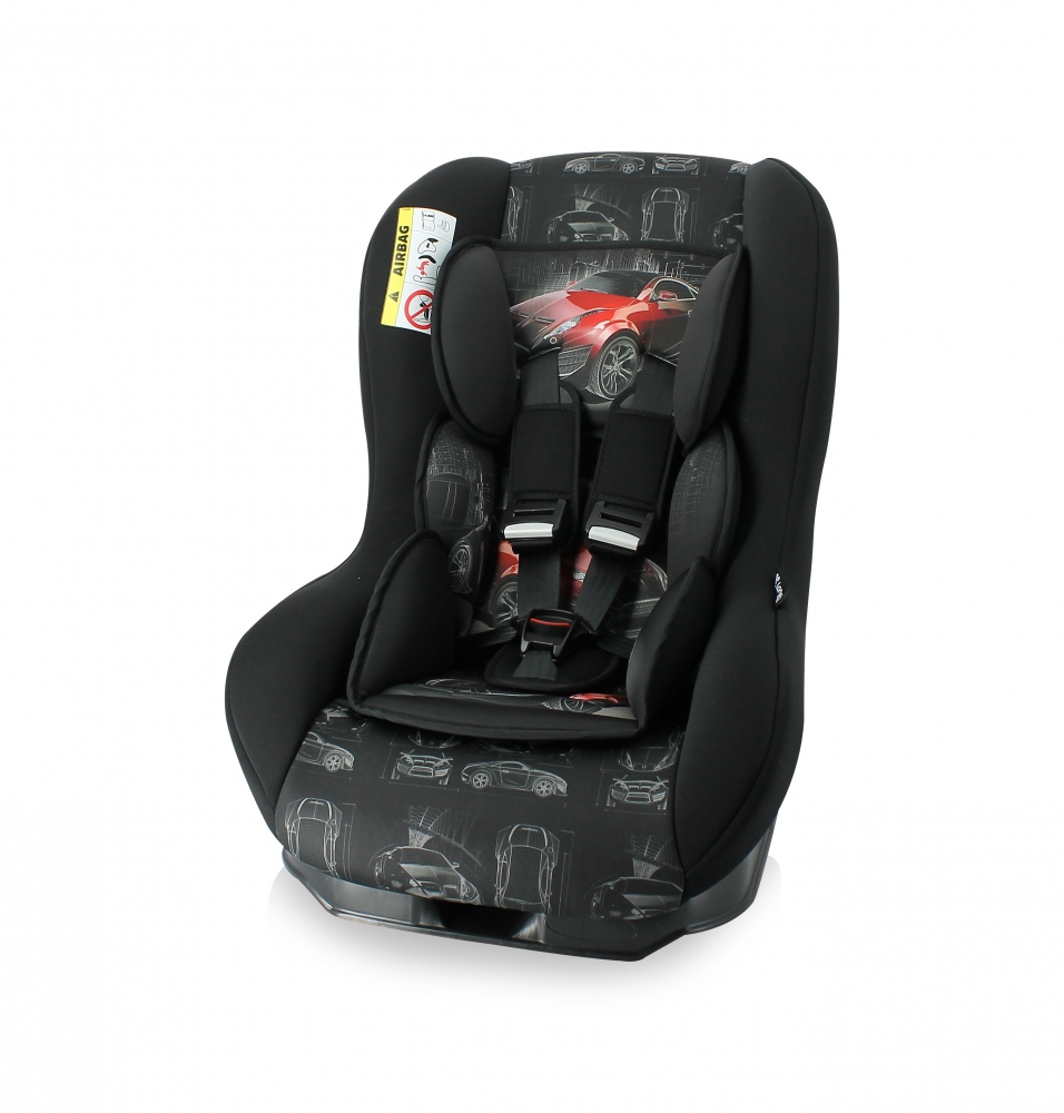 Scaun auto 0-18 Kg Beta Plus Black Red Car
