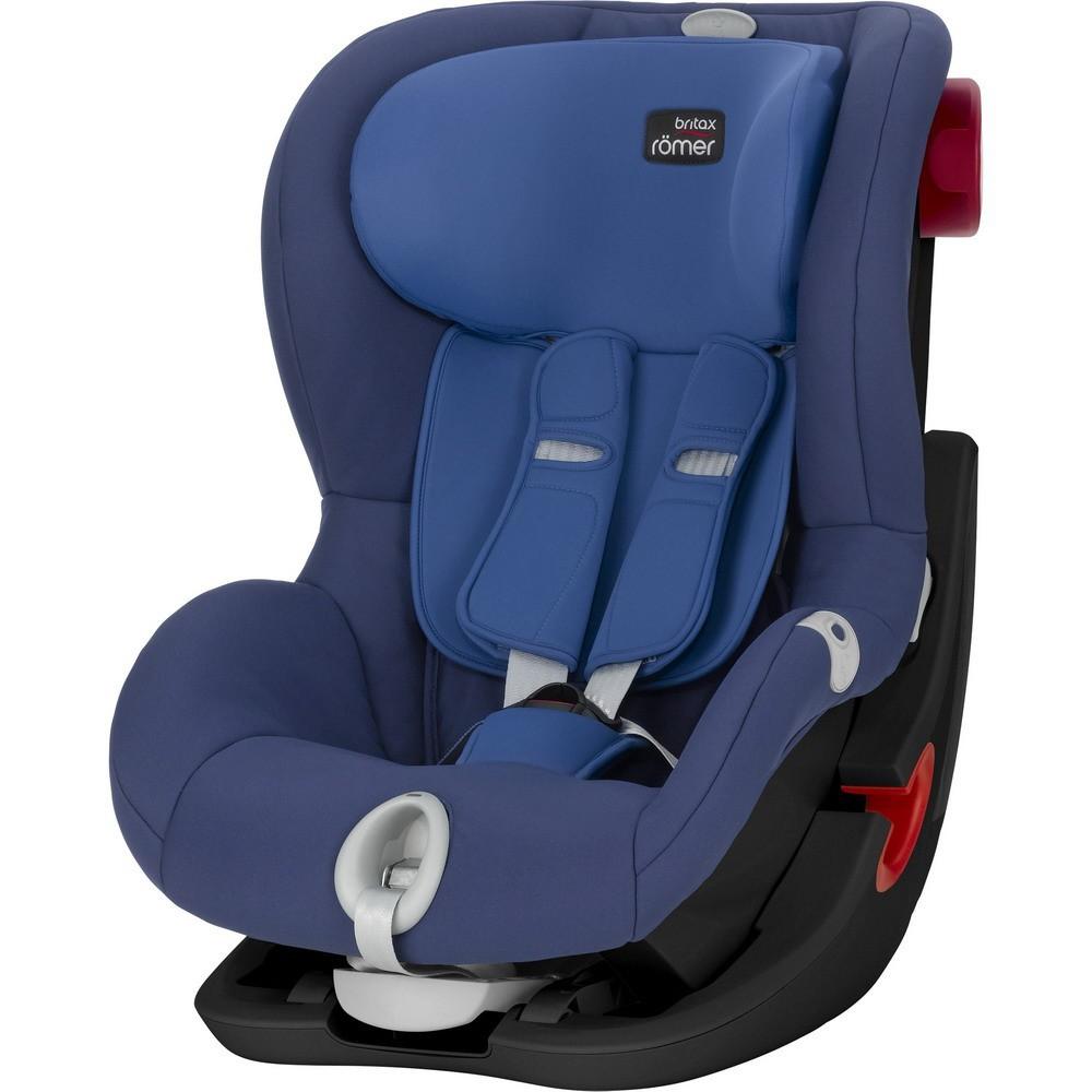 Imagine indisponibila pentru Scaun auto King II LS Black Series Ocean blue Romer