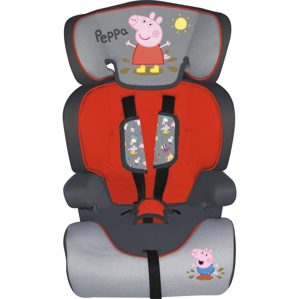 Scaun auto Peppa Pig 9 - 36 kg Eurasia E70105