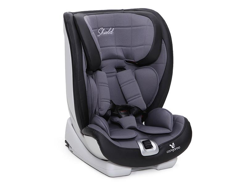 Scaun Auto Copii 9-36 Kg Isofix Cangaroo Shield Gri