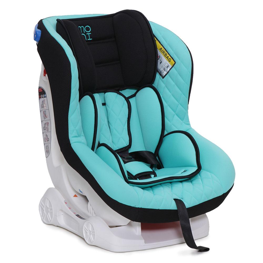 Scaun auto copii Moni Aegis 0-18 kg Turquise