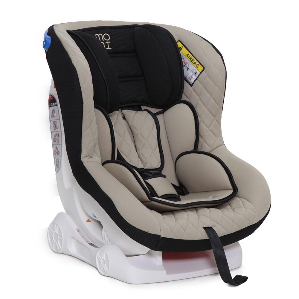 Scaun auto copii Moni Aegis 0-18 kg Beige imagine