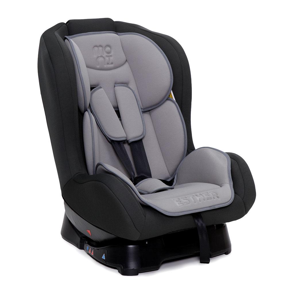 Scaun Auto Copii Moni Esther 0-18 Kg Grey