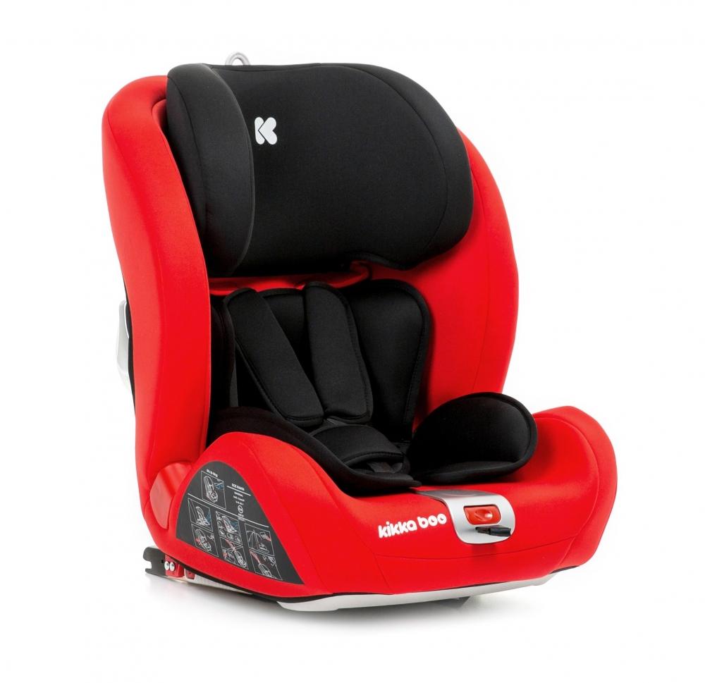 Scaun auto cu Isofix grupa 9-36 kg Noble Red