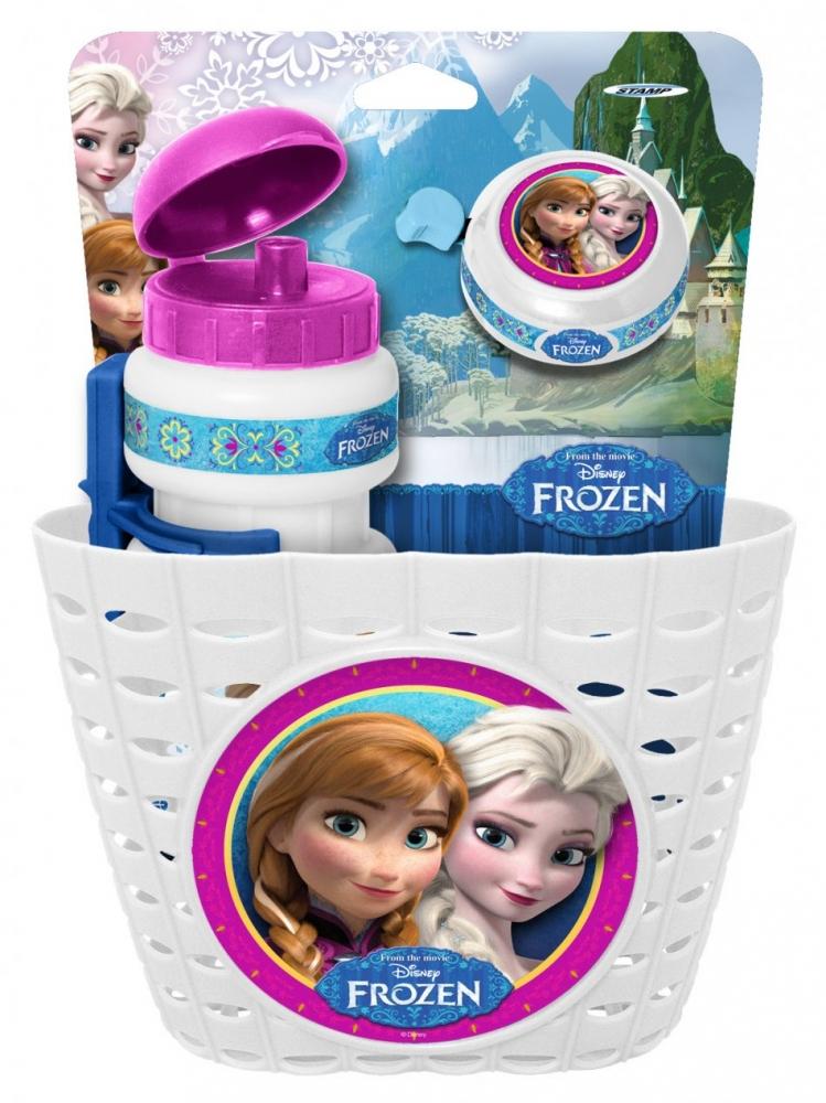 Set accesorii pentru bicicleta Disney Frozen