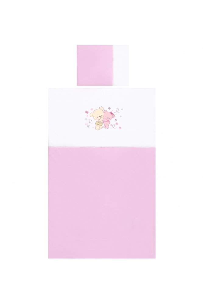 Set Lenjerie Pat 15 Piese Jersey Za Za Pink
