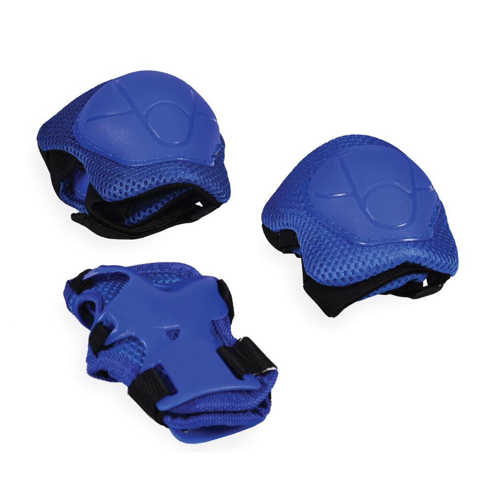 Set protectii cotiere, genunchiere si brate Blue din categoria La Plimbare de la Byox
