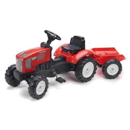 Tractor power green dynamics cu remorca imagine