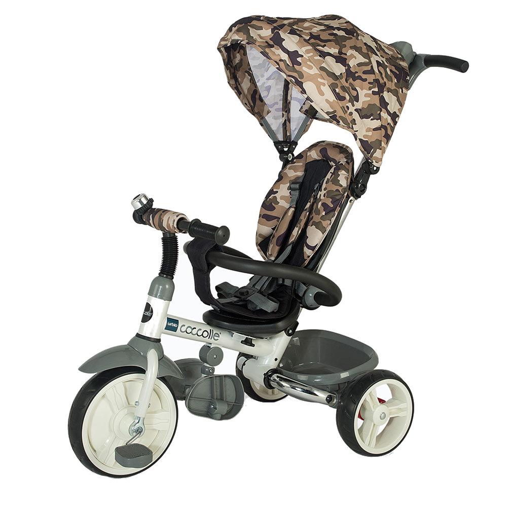 Tricicleta Pliabila Coccolle Urbio Editie Limitata Army Oliv