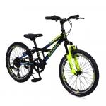 Bicicleta pentru copii Byox Tucana Black 6 viteze 20 inch